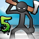 Anger of stick 5 : zombie 1.1.44 APK (MOD, Unlimited Money)