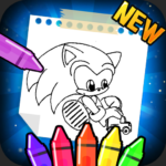 Hedgehogs Supersoni's coloring Book 1.0 APK (MOD, Unlimited Money)