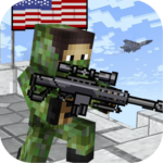 American Block Sniper Survival v1.76APK (MOD, Unlimited Money)