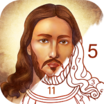 Bible Coloring – Paint by Number, Free Bible Games  2.12.1 APK (MOD, Unlimited Money)