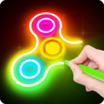 Draw Finger Spinner 1.00.63 APK (MOD, Unlimited Money)
