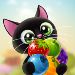 Fruity Cat –  bubble shooter! 1.62.3  (MOD, Unlimited Money)