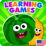 FunnyFood Kindergarten learning games for toddlers 2.3.0.31 APK (MOD, Unlimited Money)