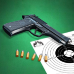 Pistol shooting at the target  5.4 (MOD, Unlimited Money)