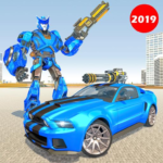 Police Robot Car Rampage: New robot shooting Games 1.10  APK (MOD, Unlimited Money)