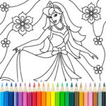 Princess Coloring Game 14.9.4 APK (MOD, Unlimited Money)