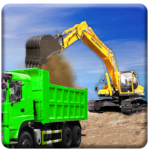 Sand Excavator Truck Driving Rescue Simulator game 5.6.2 APK (MOD, Unlimited Money)