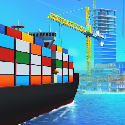 Sea Port: Build Town & m APK (MShip Cargo in Strategy SiOD, Unlimited Money)1.0.166