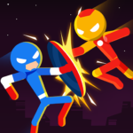 Stick Super: Hero – The stickman shadow fight 1.0.6 APK (MOD, Unlimited Money)