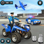US Police ATV Quad Bike Plane Transport Game 1.1.16 APK (MOD, Unlimited Money)