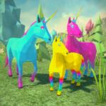 🦄Unicorn Family Simulator 2-Magic Horse Adventure 1.34 APK (MOD, Unlimited Money)