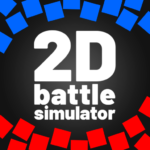 🖤 2D Battle Simulator —totally accurate simulator 1.91 APK (MOD, Unlimited Money)