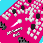 3D Bump Ball: Push The Hurdle Ball Moving Game 1.4.2 APK (MOD, Unlimited Money)