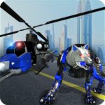 Air Force Transform Robot Cop Wolf Helicopter Game 1.3.3APK (MOD, Unlimited Money)