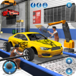 Car Maker Factory Mechanic Sport Car Builder Games 1.14(MOD, Unlimited Money)