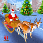 Christmas Santa Rush Gift Delivery- New Game 2019 6 APK (Premium Cracked)