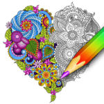 Coloring for adults – relaxing app – coloring book 1.2.1.395new  APK (Premium Cracked)
