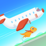 Dinosaur Airport – Flight simulator Games for kids 1.0.4 APK (MOD, Unlimited Money)