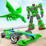 Dragon Robot Car Game – Robot transforming games 1.4.1 (MOD, Unlimited Money)