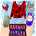 Dress up and Nail Games – Christmas Style 1.1.2APK (MOD, Unlimited Money)