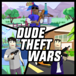 Dude Theft Wars: Open World Sandbox Simulator BETA 0.87c APK (MOD, Unlimited Money)