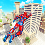 Flying Police Robot Rope Hero: Gangster Crime City 27 APK (Premium Cracked)