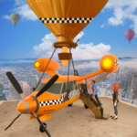 Flying Taxi Simulator: Air Balloon Taxi Driving 3D 1.0.3 APK (MOD, Unlimited Money)
