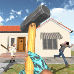 Granny Kick Neighbor – New Free Fun Shooting Games 5.6 APK (MOD, Unlimited Money)