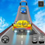 Impossible Car Stunts Racing : Crazy Car Stunts 3D 1.0 APK (Premium Cracked)
