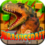 JurassicCraft: Free Block Build & Survival Craft 5.1.2 APK (MOD, Unlimited Money)