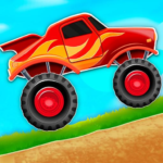 Kids Monster Truck Hill Rush 2.1 APK (Premium Cracked)