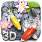 Lively Koi Fish 3D Theme 2.3.4 APK (Premium Cracked)
