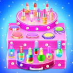 Makeup kit cakes : cosmetic box makeup cake games 1.0.10 (MOD, Unlimited Money)