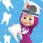 Masha and the Bear: Free Dentist Games for Kids 1.1.9 APK (Premium Cracked)