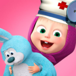 Masha and the Bear: Toy doctor 1.2.3  APK (MOD, Unlimited Money)