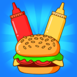 Merge Burger: Food Evolution Cooking Merger 2.0.11 APK (MOD, Unlimited Money)