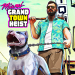 Miami Gangster Grand Town Heist: Real Gangster 3D 5.3 APK (Premium Cracked)