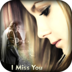Miss You Photo Frame 1.18 APK (Premium Cracked)