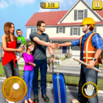 New Family House Builder Happy Family Simulator 1.7  APK (MOD, Unlimited Money)