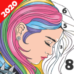 Paint Color: Coloring by Number for Adults 6.6.1  (MOD, Unlimited Money)