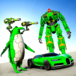 Penguin Robot Car Game: Robot Transforming Games 1.7 APK (Premium Cracked)