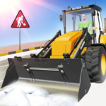 Real Heavy Snow Plow Truck Excavator Machine Games 5.1 (Premium Cracked)