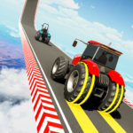 Real Tractor Stunt Racing Games: Impossible Tracks 1.2 APK (Premium Cracked)