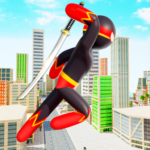 Stickman Ninja Hero: Gangster Crime Superhero Game 8 APK (Premium Cracked)