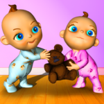 Talking Baby Twins – Babsy 14 APK (Premium Cracked)