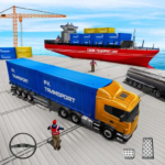 Transport Ship Euro Truck Cargo Transport Games 2.8 (MOD, Unlimited Money)