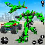 US Army Monster Truck Transform Robot Shooting 1.9 APK (Premium Cracked)