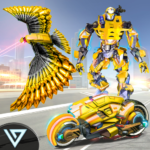 US Police Robot Bike Transform Pigeon Robot Games 2.1APK (MOD, Unlimited Money)