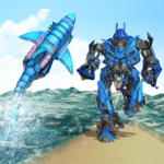 Warrior Robot Shark– Shark Robot Transformation 1.8APK (MOD, Unlimited Money)