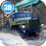 Winter Timber Truck Simulator 1.51 APK (MOD, Unlimited Money)